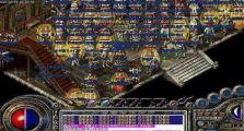 超变传奇sf里战士新手初步接触游戏操作方式